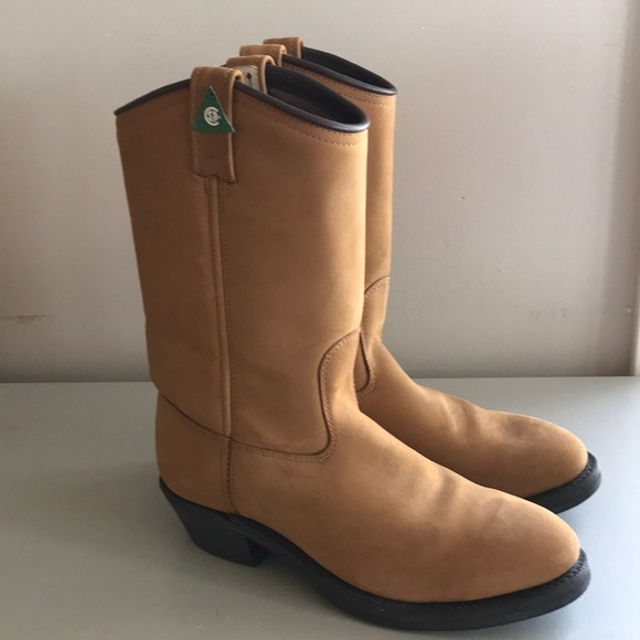 Canada West Tan insulated CSA Western  Work Boot